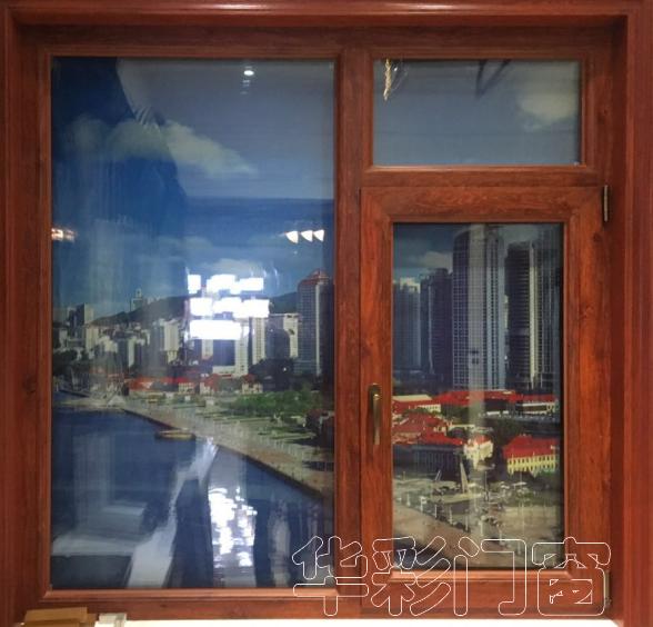 花腔铝塑铝加厚隔音门窗