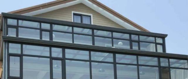 紫东苑别墅—烟台铝包木门窗